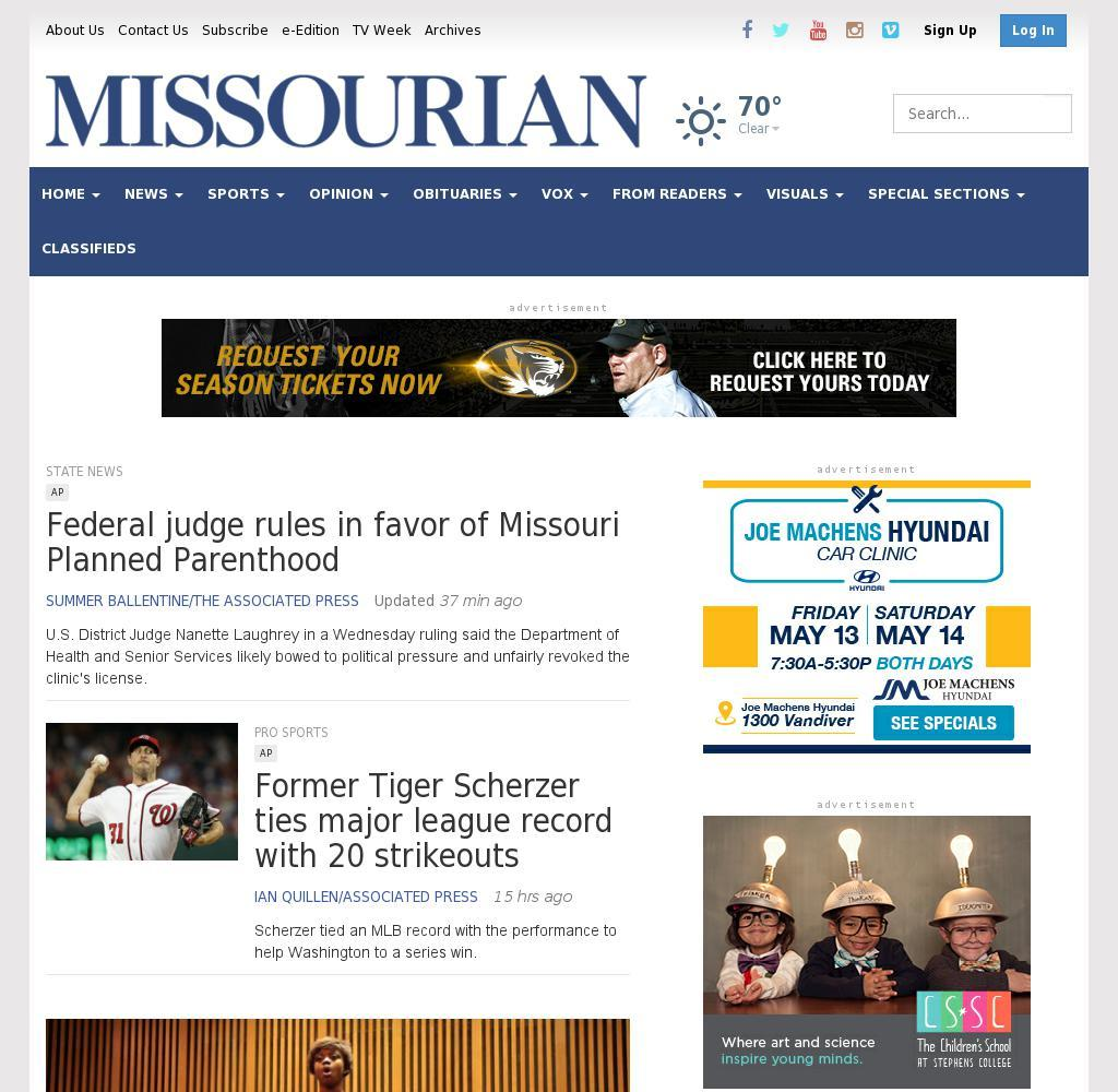 Columbia Missourian