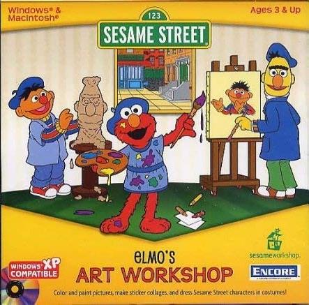 Sesame Street: Elmo's Art Workshop (1997)