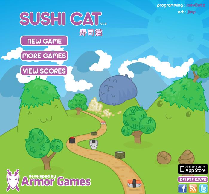 Sushi Cat Series