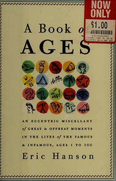 Cover of: A book of ages | Eric Hanson