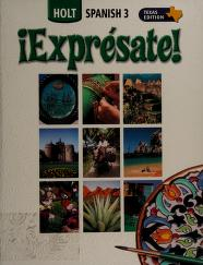 Cover of: !Expresate! Spanish 1a Texas Edition |