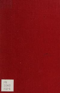 Cover of: On the art of fiction | Aristotle