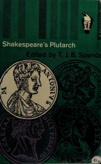 Cover of: Shakespeare's Plutarch | Plutarch