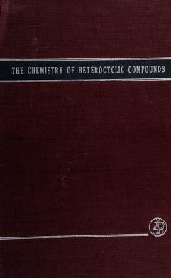 Cover of: Six-membered heterocyclic nitrogen compounds with three condensed rings by C. F. H. Allen